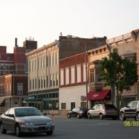 Buildings on South Main Street near Post Office; Elkhart, IN, Елкхарт