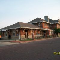 Train passenger depot; Elkhart, IN, Елкхарт
