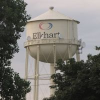 Elkhart water tower, Елкхарт