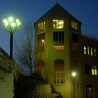Building at Night (Edificio de Noche), Индианаполис