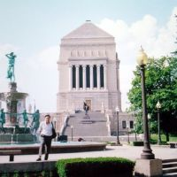 EE UU University Park Worl War Memorial, Indianapolis, Индианаполис