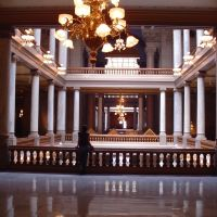 Indiana State Capital - North Wing, Индианаполис