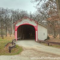 Milroy or Crown Point Covered Bridge, Краун Поинт