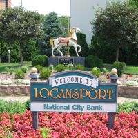 NCB Logansport Sign, Логанспорт