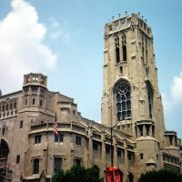 EE UU Cathedral Scotish Rite, Indianapolis, Меридиан Хиллс