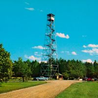 IN.53-Fire Tower in Brown County State Park, Nashville, Indiana, Меридиан Хиллс