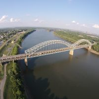 Sherman Minton Bridge, Western View, Нью-Олбани