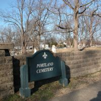 Portland Cemetery, Bank Street, Louisville, Kentucky, Нью-Олбани