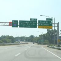 Bank Street Exit off of Interstate 264, Eastbound, Олбани