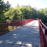 Monon Trail Bridge, Равенсвуд