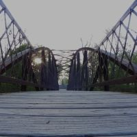Spy Run Creek Foot Bridge, Форт Вэйн