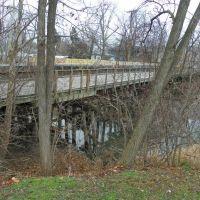 St Joseph River Greenway Bridge, former RR bridge, Форт Вэйн