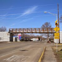 Monon Trail Bridge April 2014 165th Street, Хаммонд
