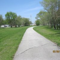 Erie Lackawanna Trail looking north toward 169th St., Хаммонд