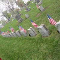 Civil War Veteran section at Oak Hill Cemetery Hammond Indiana, Хаммонд