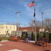 New Veterans Memorial Lyman at Douglas Junction of Erie Lackawanna and Monon Trails, Хаммонд