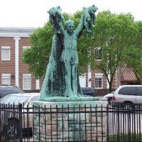 Charles Major Statue, Shelbyville, Shelby County, Indiana, Шелбивилл