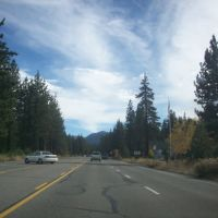 Driving back to Sacramento, Тахо