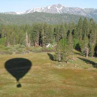 Balloon ride over Lake Tahoe, Тахо