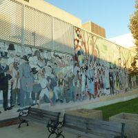 Azusa, CA:  Underdog Mural Program at Sierra High School, Azusa, 2011, Азуса