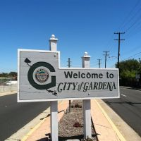 Gardena City Sign, Алондра-Парк