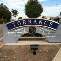 Torrance City Sign, Алондра-Парк