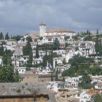 Albaicin, Granada., Альгамбра