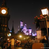 Fantasyland at Night, Disneyland Park, Анахейм