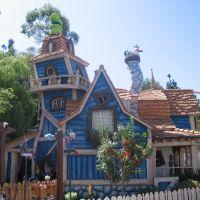 Goofys House At Toon Town, Анахейм
