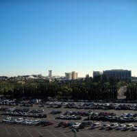 Parking lot at Disneyland - Anaheim, CA, Анахейм
