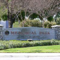 Memorial Park Upland Ca., Апленд