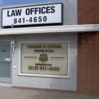 Law Offices of Thomas P. Cotrel, 927 W Olive Ave, Burbank, CA 91506, Барбэнк