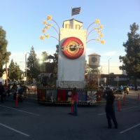 Burbank Rose Parade Float, Beautiful Downtown Burbank, Барбэнк