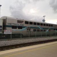 metrolink at burbank station, Барбэнк
