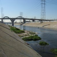 San Gabriel river - Los Angeles, Белл