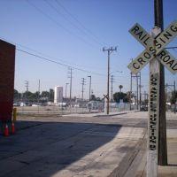 Los Angeles Junction Railway road crossing, Белл