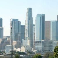 Los Angeles desde el freeway, Белл-Гарденс