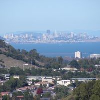 Bevs view of SF from Belmont, Белмонт