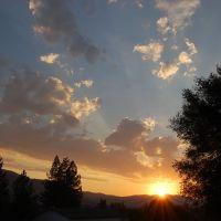 Sunset Bass Lake Ca., Блит