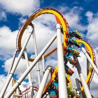 Roller Coaster at Knotts, Буэна-Парк