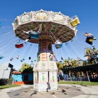 Carousel Ride - Knotts Berry Farm Theme Park, Буэна-Парк