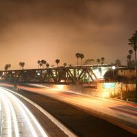 101 freeway at night ventura ca, Вентура