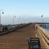 municipal pier, Ventura, California, Вентура
