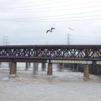 LA River - Vernon, ca, Вернон