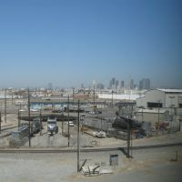 LA and Redondo Junction Rail Yard from Metrolink, Вернон