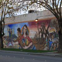 West Street Mural, Вудленд