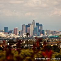 Los Angeles Skyline from Kenneth Hahn Recreational Park, Вью-Парк