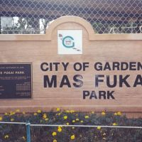 Mas Fukai Park, Гардена