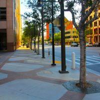 Sidewalks on Brand Blvd., Glendale, California, Глендейл