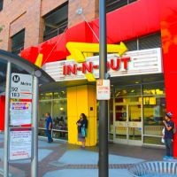 The famous IN and OUT, Brand Blvd., Glendale, CA, Глендейл